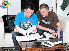 Two 18 years old twinks studying their way to a very raunchy sexual episode!